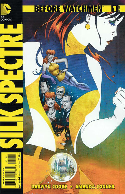 Cover for Before Watchmen: Silk Spectre (DC, 2012 series) #1