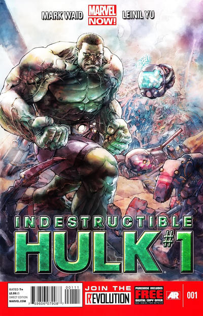 Cover for Indestructible Hulk (Marvel, 2013 series) #1