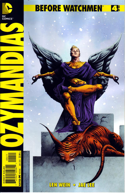 Cover for Before Watchmen: Ozymandias (DC, 2012 series) #4