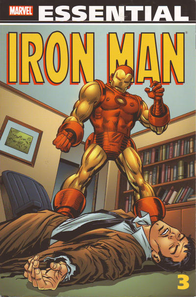 Cover for Essential Iron Man (Marvel, 2000 series) #3 [Second Printing]