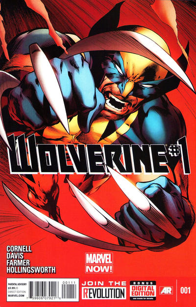 Cover for Wolverine (Marvel, 2013 series) #1