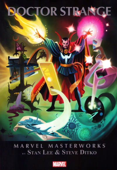 Cover for Marvel Masterworks: Doctor Strange (Marvel, 2010 series) #1