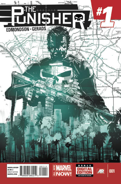 Cover for The Punisher (Marvel, 2014 series) #1