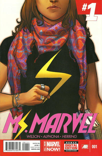 Cover for Ms. Marvel (Marvel, 2014 series) #1