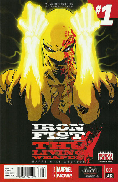 Cover for Iron Fist, the Living Weapon (Marvel, 2014 series) #1