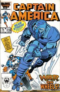 GCD  Issue  Captain America 318 Direct