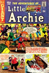 GCD  Issue  The Adventures of Little Archie 40