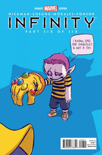 GCD  Issue  Infinity 6 Marvel Babies Variant by