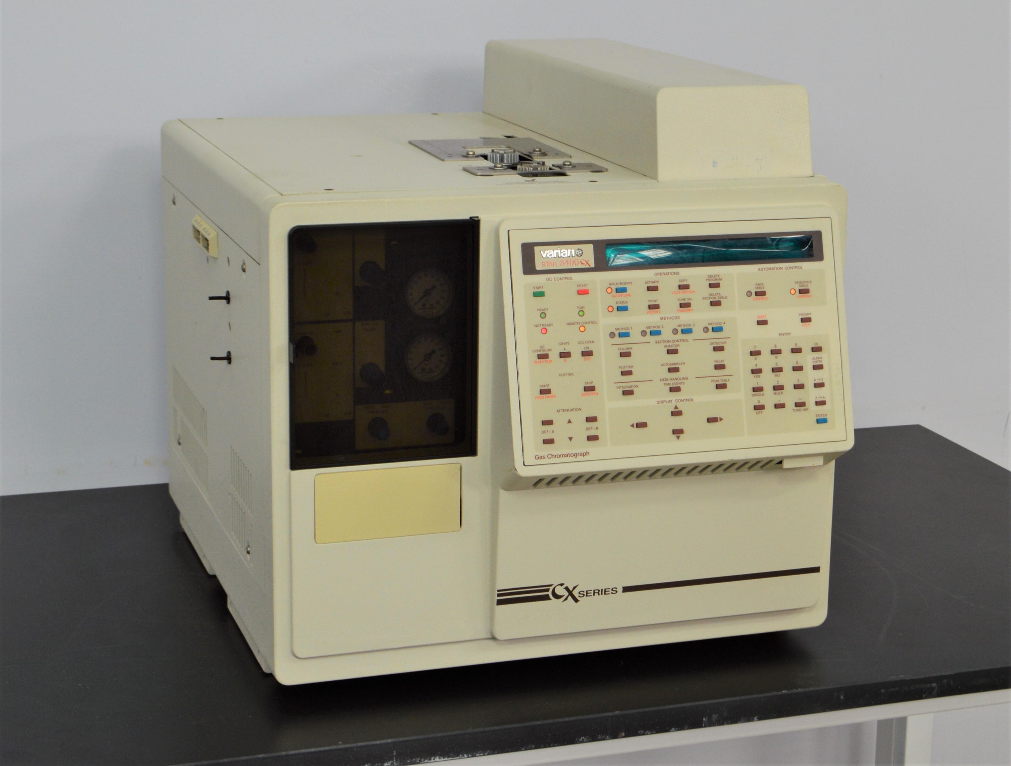 Varian Star Cx Series Gc Gas Chromatograph New Life