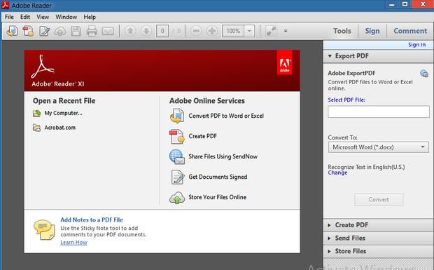 تحميل برنامج قراءة ملفات PDF مجانا Adobe Reader