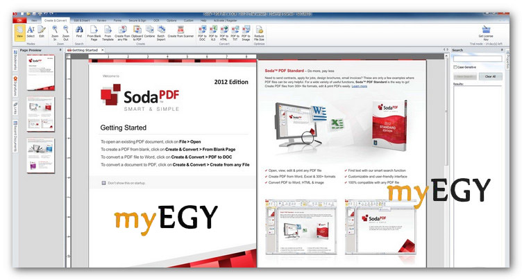 تحميل برنامج soda pdf كامل