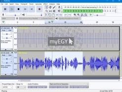 تحميل برنامج فصل الصوت عن الموسيقى Audacity مجانا عربي 2018 1