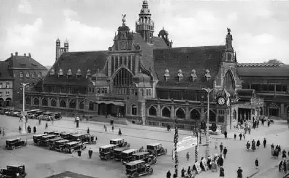 Gare centrale dEssen Essen 1902  Structurae