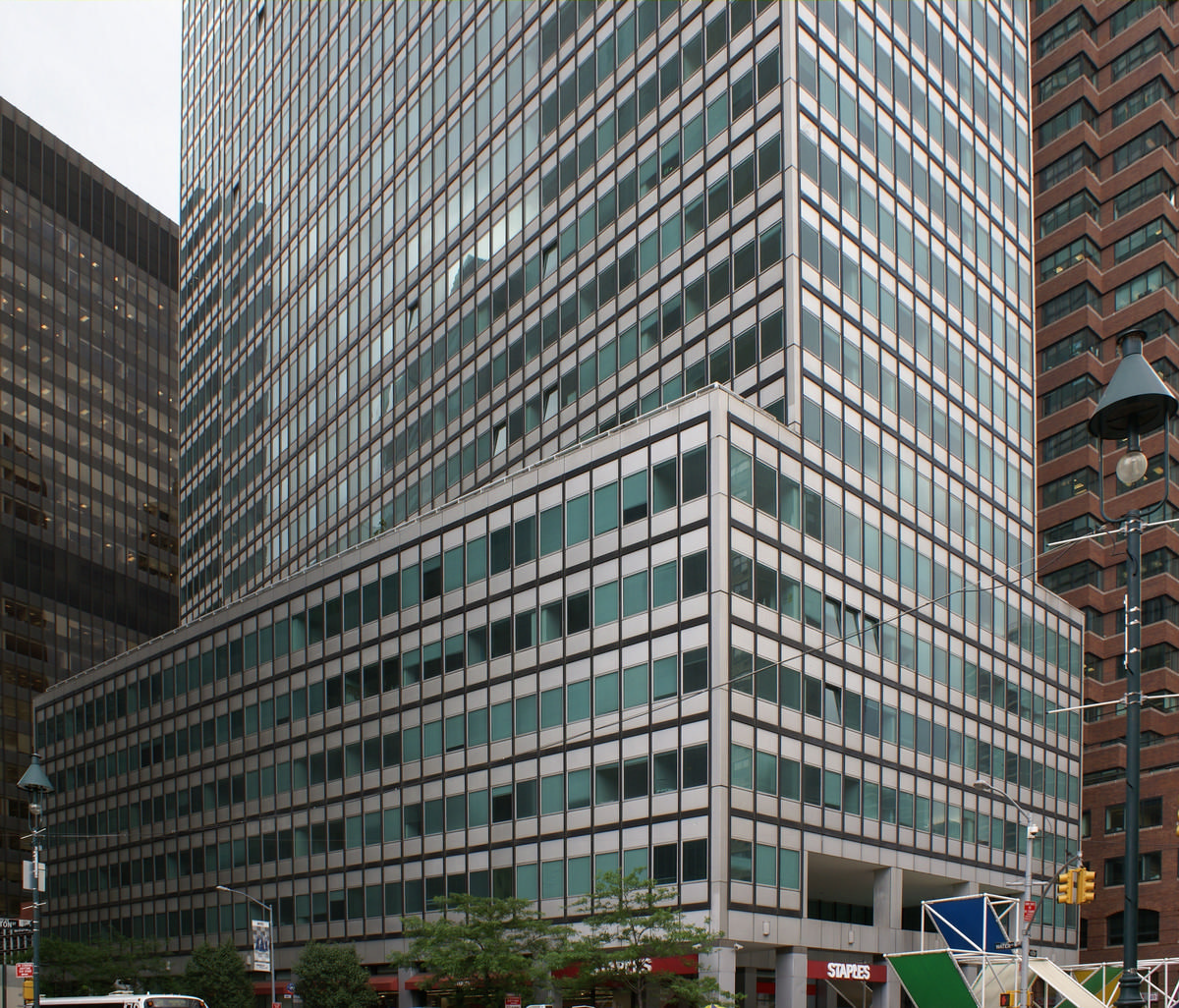 200 Water Street Manhattan 1971  Structurae