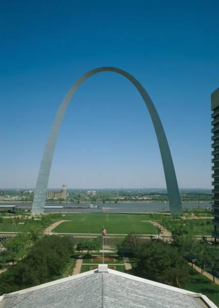 Gateway Arch Saint Louis 1966  Structurae