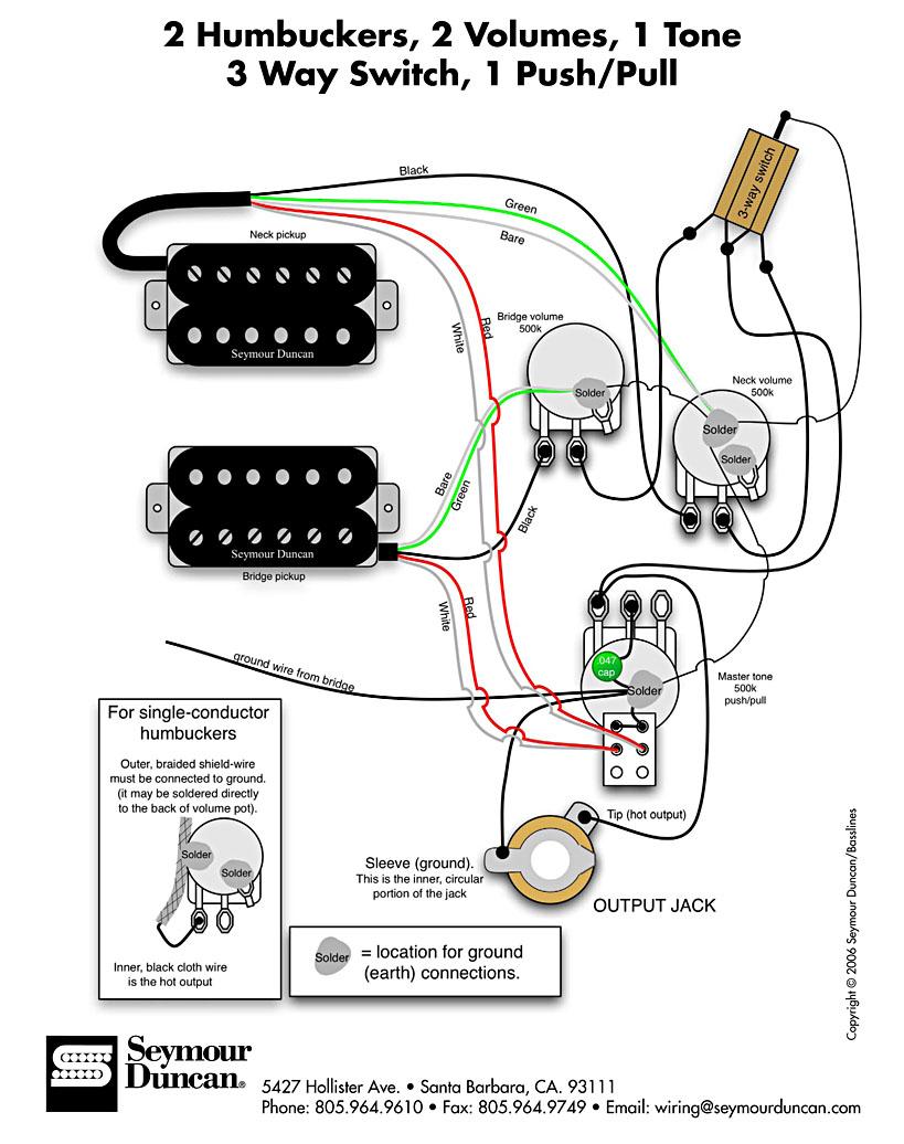 Diagrama seymour duncan? : Guitarras eléctricas, acústicas