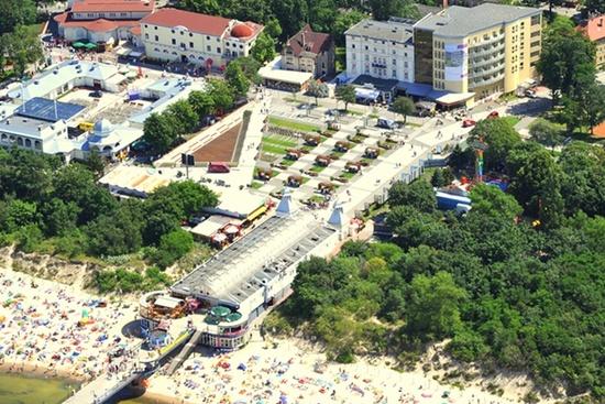 Hotel Aurora Miedzyzdroje  Hotel in Polen Jetzt 30 gnstiger