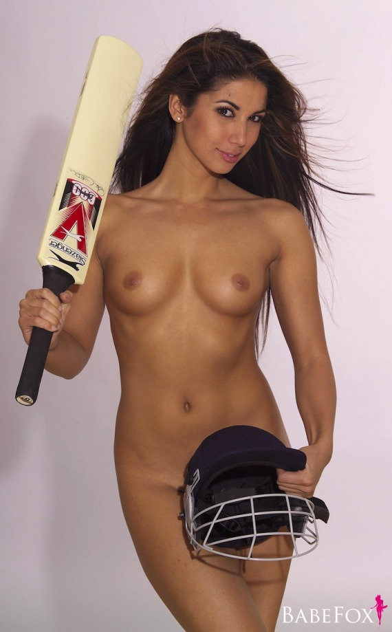 Leilani Dowding, brunette, strip, nude, perky, cricket