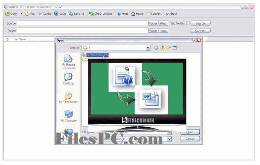 Batch HXS to DOC Converter Free Download