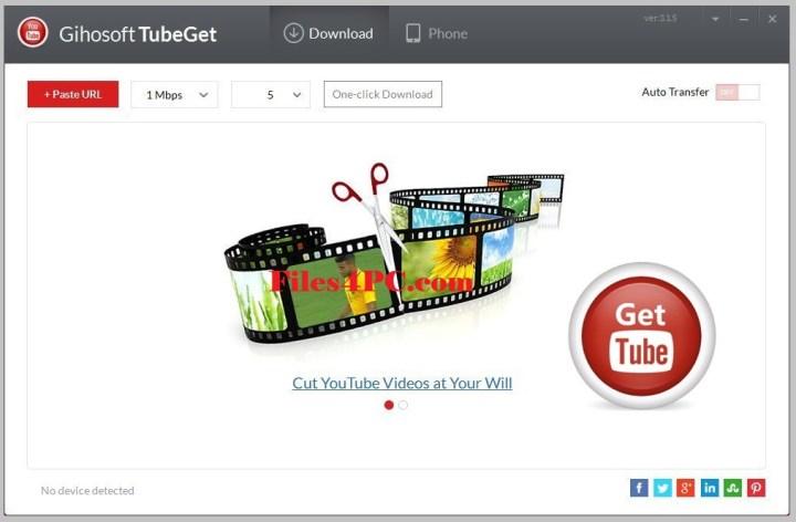 Gihosoft TubeGet Pro Activation Key Free Download