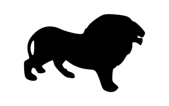 Download Retro illustration of fisherman at the lake. Lion Silhouette dxf File - Free Download Files Cnc 1svg.com