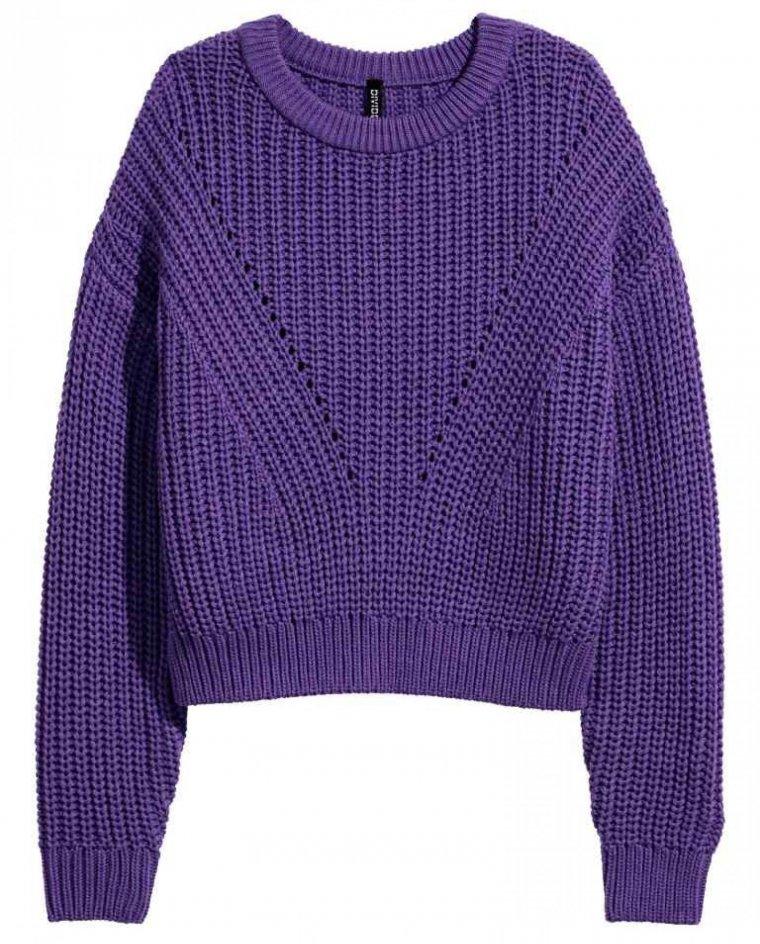 Resultado de imagen de HM ultraviolet sweater