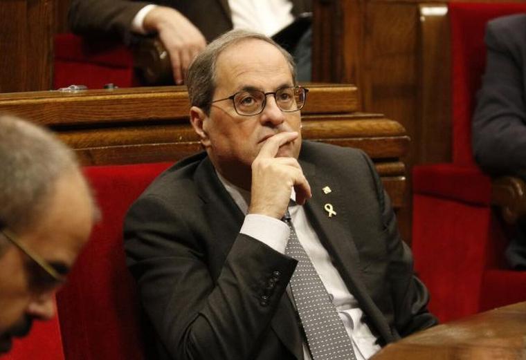 El President de la Generalitat de Catalunya, Quim Torra