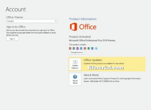 Microsoft Office 2019 Product Key Full Crack (Latest) Download
