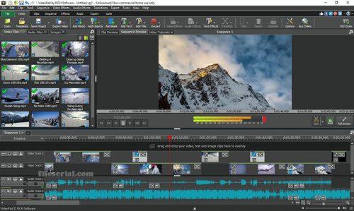 VideoPad Video Editor 10.04 Crack + License Keygen (2021) Download