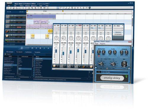 MAGIX Music Maker FREE 2021 29.0.0.13 Crack + Registration Code Free - {Mac]