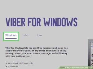 Viber for Windows 8.