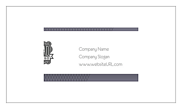 Indexed Elegance Business Cards