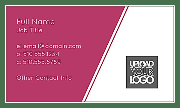 Customizable Angular Lines Business Card Template