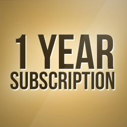 1 Years subscription