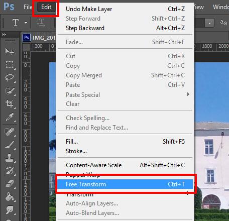 Hoe de grootte van de foto in Photoshop te veranderen