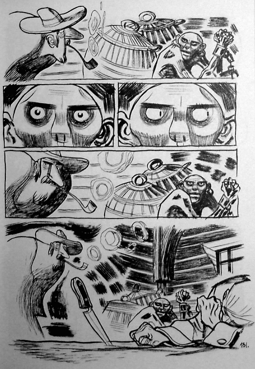 três sombras página 3