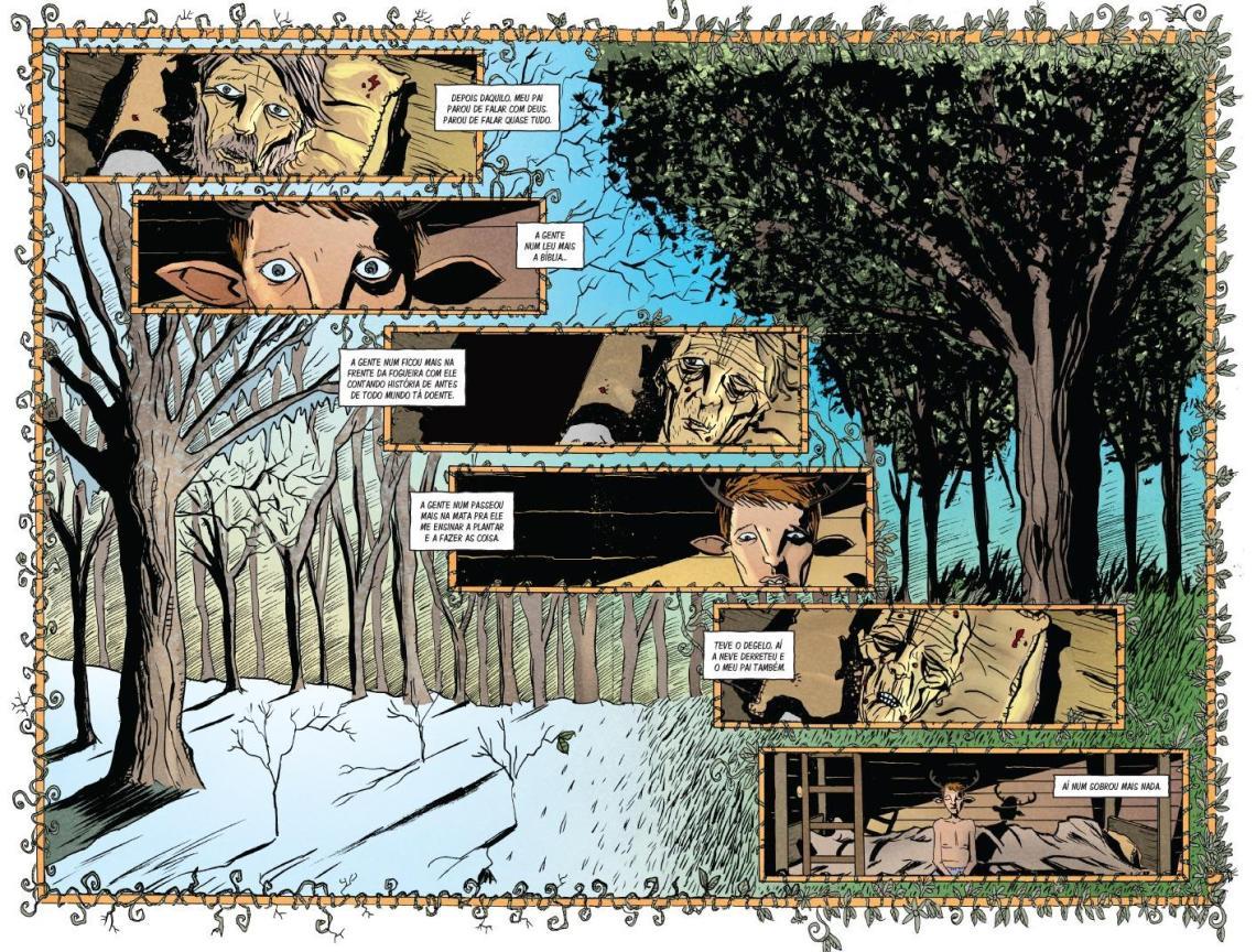 Sweet Tooth Depois do Apocalipse Vol. 1 - Saindo da Mata página 1