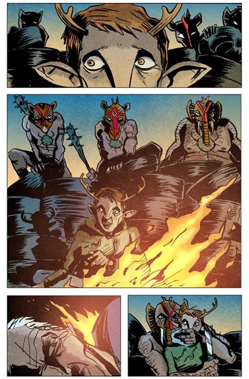 Sweet Tooth Depois do Apocalipse Vol. 1 - Saindo da Mata página 3