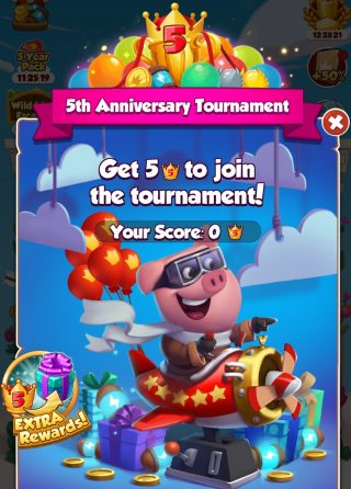 5th Anniversary Tournament