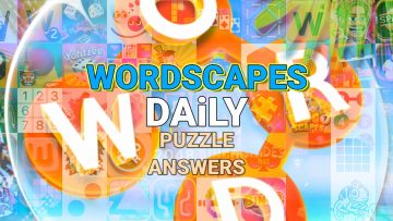 Wordscapes Daily Today Puzzle Challenge