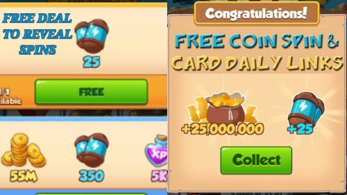 Daily Coin Master Free Spins