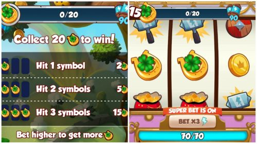 Leprechaun Land Requirements and spin board