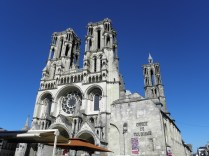 LAON: katedra Notre Dame / Notre-Dame cathedral