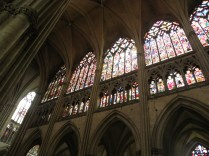 Witraże katedry w Troyes