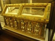 Relikwiarz św. Bernarda z Clairvaux w katedrze Troyes