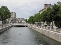 Jeden z kanałów w Troyes