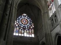 Witraż pd. transeptu