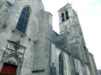 NOYERS: elewacja północna kościoła / northern wall of the church