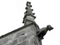 NOYERS: jeden z detali elewacji / one of stone details