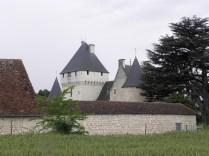 Zamek od wschodu
